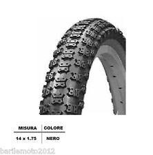Copertone / Pneumatico Bici 14 x 1.75  NERO MTB BIMBO / BAMBINO TASSELLATO