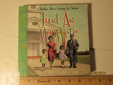 Just as We Were Growing Up Christian Hallmark Gift Book BOK2044
