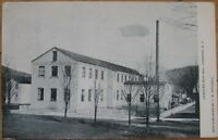 1908 NY Postcard: Canisteo Silk Mill-Canisteo, New York