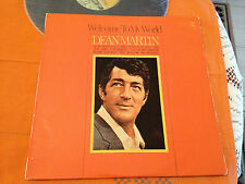 DEAN MARTIN - WELCOME TO MY WORLD - Orig.1967 Aus Lp REPRISE MONO R6250 - VG+