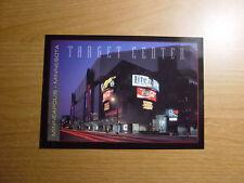 Target Center Arena Postcard Minnesota Timber Wolves