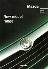 Mazda 1997 UK Market Sales Brochure 121 323 MX-3 MX-5 626 MX-6 Xedos 6 9