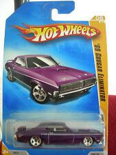 Hot Wheels '69 Cougar Eliminator 2009 New Models Purple