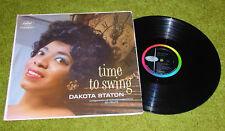 DAKOTA STATON TIME TO SWING LP RECORD