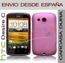 CARCASA FUNDA DURA ROSA HTC DESIRE C EN ESPAÑA