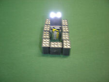 Ten (10)    9 Volt LED Flashlight Heads (No Batteries)