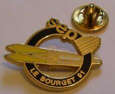 PARIS AIR SHOW LE BOURGET 1991 SEP espace aviation vintage pin badge