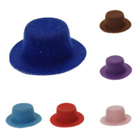 1/6 1/12 Miniature Gentleman Hat Dollhouse Accessories Pretend  Toy Novelty