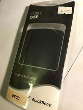 BlackBerry 88xx Series Silicon Skin Case Cover in Black BBY-S88 Original. Br/New