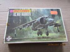 MATCHBOX HS. MK-1 Harrier Vintage model kit 1/72 scale