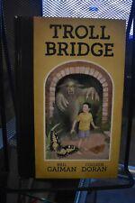 Troll Bridge by Neil Gaiman Dark Horse Books Hardcover Rare Colleen Doran