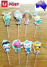 12 X OCTONAUTS cupcake topper picks OCTONAUTS cake topper party supplies