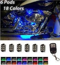 36 LED Motorcycle Pod Lights Ground Effect Kit For Harley
