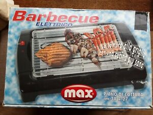 electric barbeque, MAX (italian brand) 2 levels for cooking little use