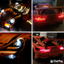LED Light Kit ONLY For Lego 42056 Porsche 911 GT3 RS Technic Lighting Bricks