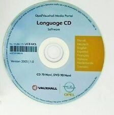 opel cd aggiornamento navigatore con le lingue per cd70 navi e dvd 90 navi