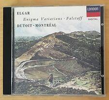 CD: ELGAR ENIGMA VARIATIONS - Falstaff - Dutoit Montreal