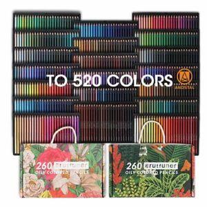 520 Oil Color Pencil Set 1 Box Drawing Coloring Pen Pastille School Art Supplies
