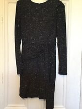 TOPSHOP, Gorgeous New with tags Ladies Party Black Glitzy Dress, size 8