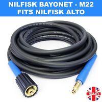 20m Nilfisk High Pressure Washer HOSE Jet Power Wash fits NILFISK C110 models