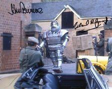 More details for doctor who autograph: john levene & michael kilgarriff (robot) signed photo