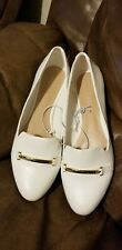 Aldo Womens White Flat Shoes Size Size 8 New Without Box