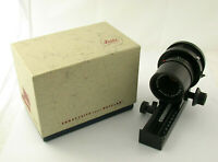 LEICA Makro-Set Macro-Elmar-R 4/100 100mm F4 bellows Balgen adapt. EOS A7 /20