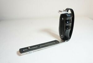 Vintage Soligor camera side grip with hot shoe attachment