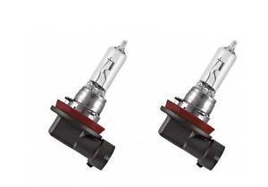2 OEM GE H9 Halogen 65W 12V Headlight Replacement Bulbs Clear PGJ19-5 2100 Lumen