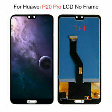 Black For Huawei P20 Pro LCD Display Touch Screen Digitizer Assembly Replacement