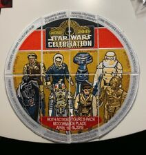STAR WARS CELEBRATION 2019 CHICAGO COMPLETE HOTH COLLECTORS PUZZLE PATCH SET