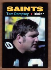 Tom Dempsey '71 New Orleans Saints kicked 63 yard field goal MC Glory Days #18