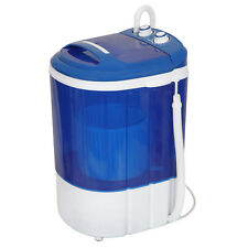 9 Lbs Portable Single Tub Washing Machine Release Hands Washer and Spinner 2IN1