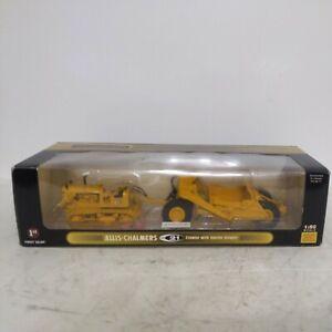 First Gear  Allis-Chalmers HD-21 Crawler w/ Ejector Scraper 1:50