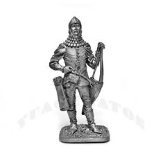 "Tin Soldier ""Bohemian Archer, Second Half of 14th Century"" 1/32 54mm"