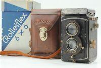 【EXC+4 in Box】Rolleiflex Standard Tessar 75mm f3.5 TLR 1932 model ✈FedEx From JP