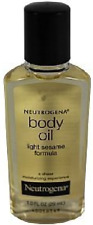 Neutrogena Body Oil, Light Sesame Formula, Sesame Oil, 1 Fl. Oz.