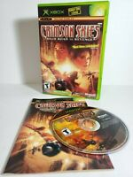 Crimson Skies High Road to Revenge (Xbox, 2003) COMPLETE! NOT FOR RESALE