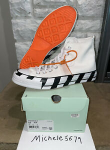 Size 8.5 - Converse Chuck 70 x Off-White 163862C Used With Box Women's Size 10.5