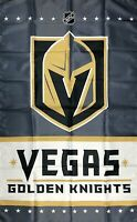 Las Vegas Golden Knights NHL Stanley Cup Hockey Flag 3x5 ft Banner Man-Cave New