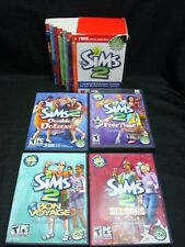 The Sims 2 PC Expansion Lot Of 4 Plus 7 Strategy Guides
