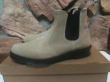Dr. Martens New 2976 Men's US 13 Chelsea Suede Tan Milk Shake Boots