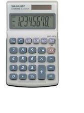 Sharp Hand Held Calculator 8 Digit (EL240SAB)