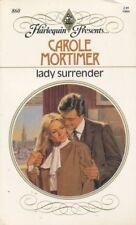Lady Surrender by Carole Mortimer (1986, Paperback)