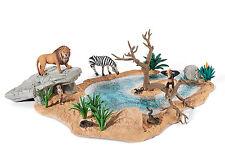Schleich 42258 Watering Hole for Wildlife Animal Toy Figurine Habitat - NIB