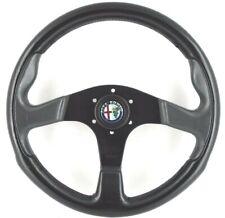 Genuine Momo 350mm leather steering wheel. Alfa Romeo Alfasud Alfetta Spider  7B