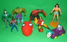 Lot of SUPERHERO / VILLAIN PROMO TOYS