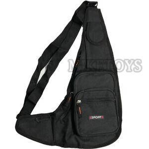 Mens Womens Sling Bag Chest Shoulder Backpack Fanny Pack Crossbody Travel Sport