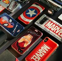 Official Marvel Avengers Card Pocket Phone Case Cover For Samsung Galaxy