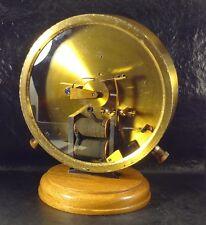 ANTIQUE RARE OLD BRONZE SLAVE CLOCK ELECTRIC SWISS PROTOTYPE 1870 MASTER CLOCK